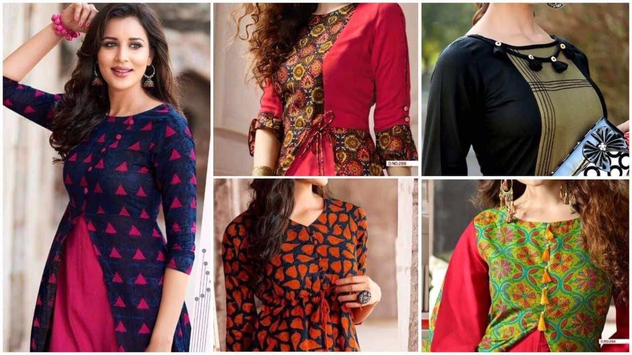 Printed designer kurtis and tunics