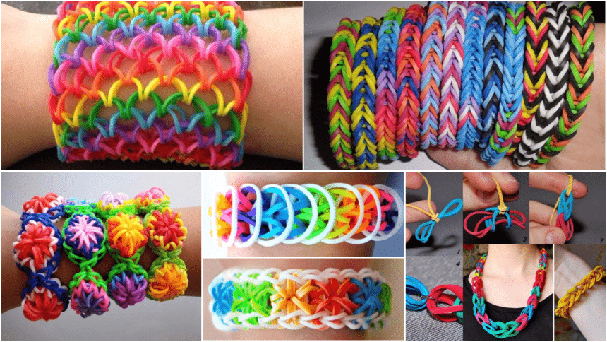 How to Make Elastic Bracelets