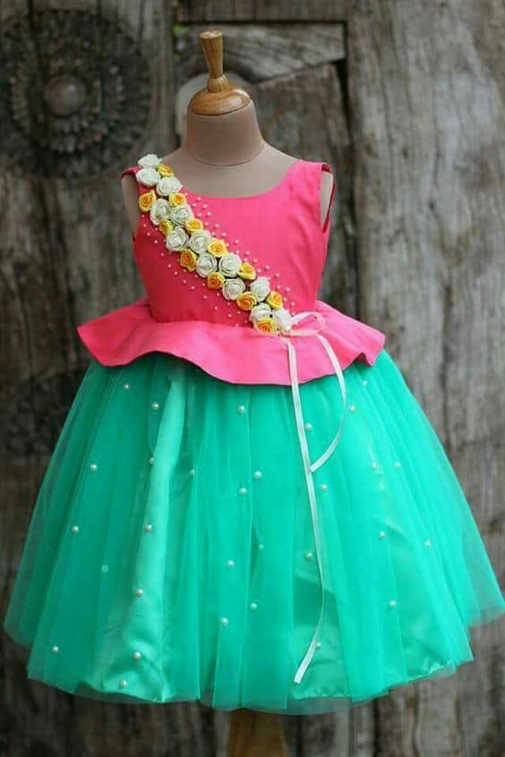 f06c885b5cba Cute frock design ideas - Simple Craft Ideas