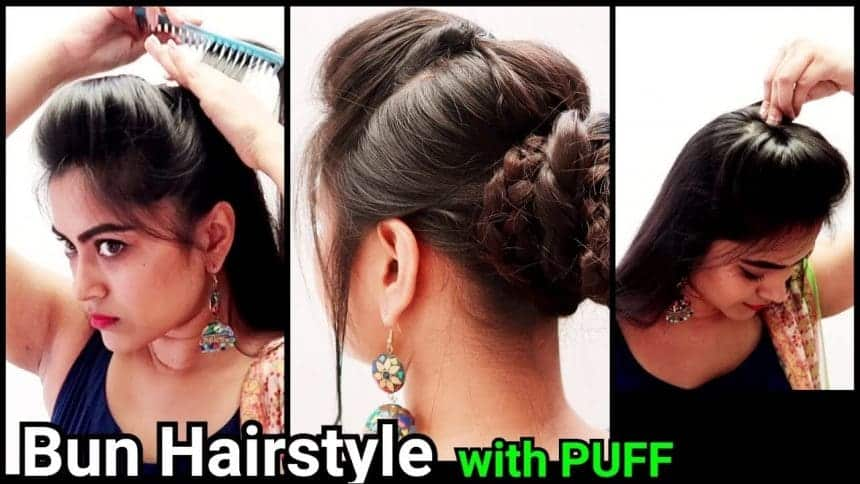 Different Types Of Quick And Easy Puff Hairstyle Simple