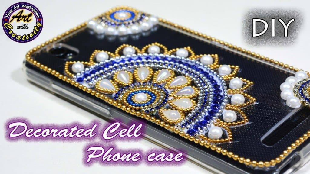 How to do cell phone case decoration