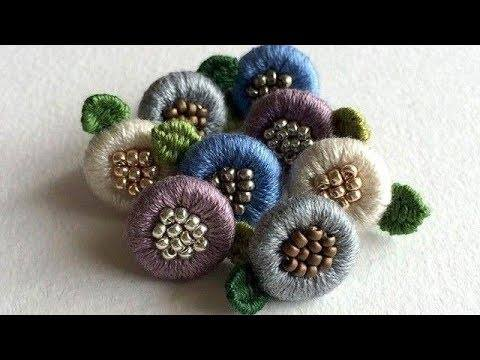 How to make creative beautiful button for kurties