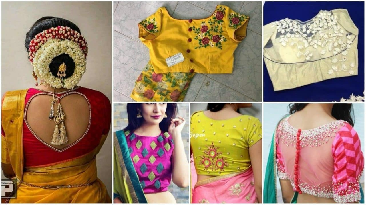 Simple Blouse Back Neck Designs Simple Craft Ideas