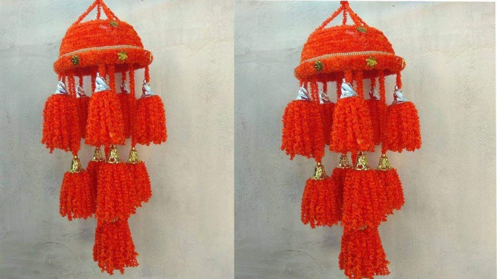 How To Make Wool Jhumar Simple Craft Ideas