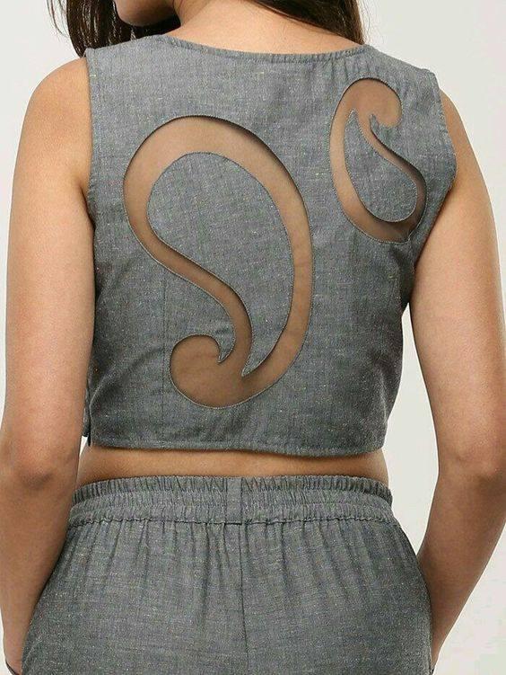 latest back design