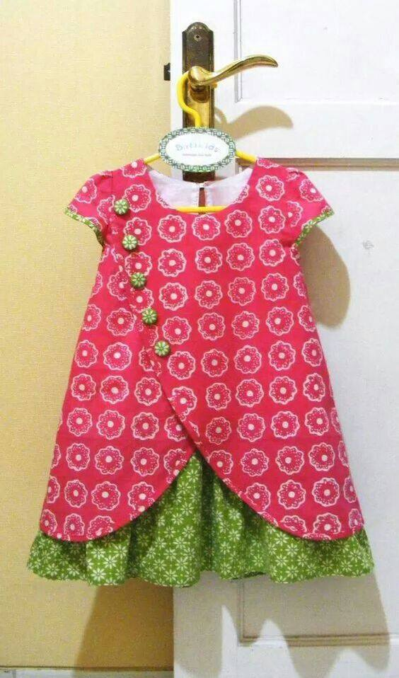 a0d8f08db405 Baby frock design - Simple Craft Ideas