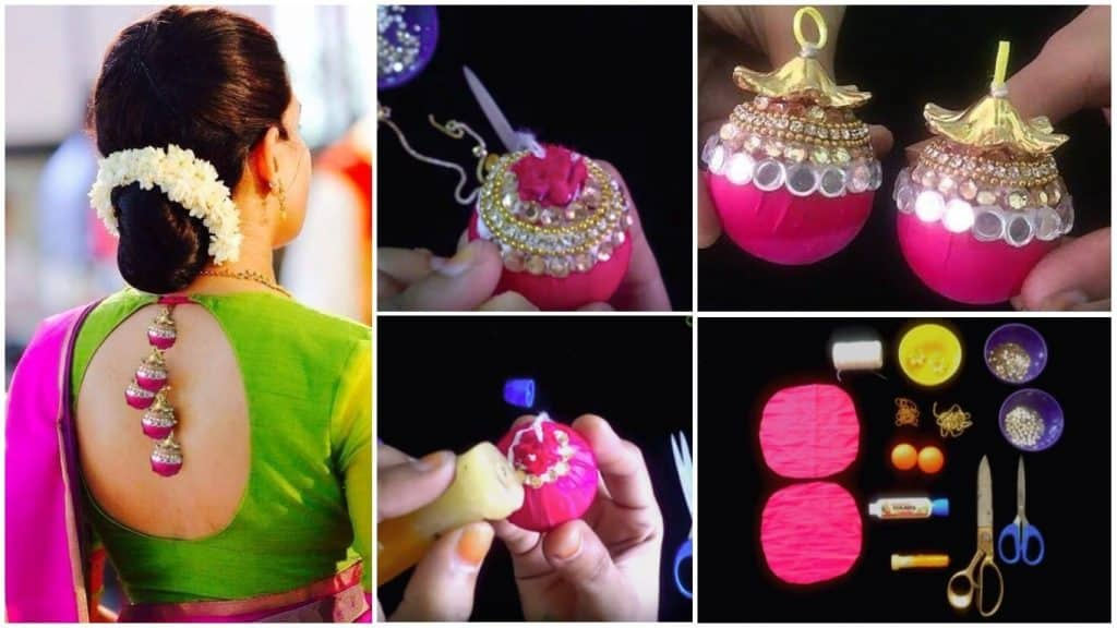 How to make adorable tassels for your Indian wears