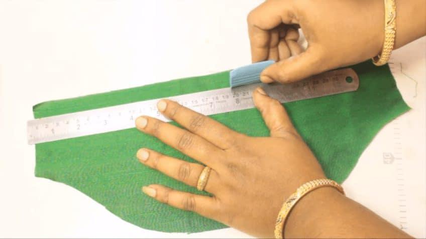 Handmade bridal sleeves in heavy work