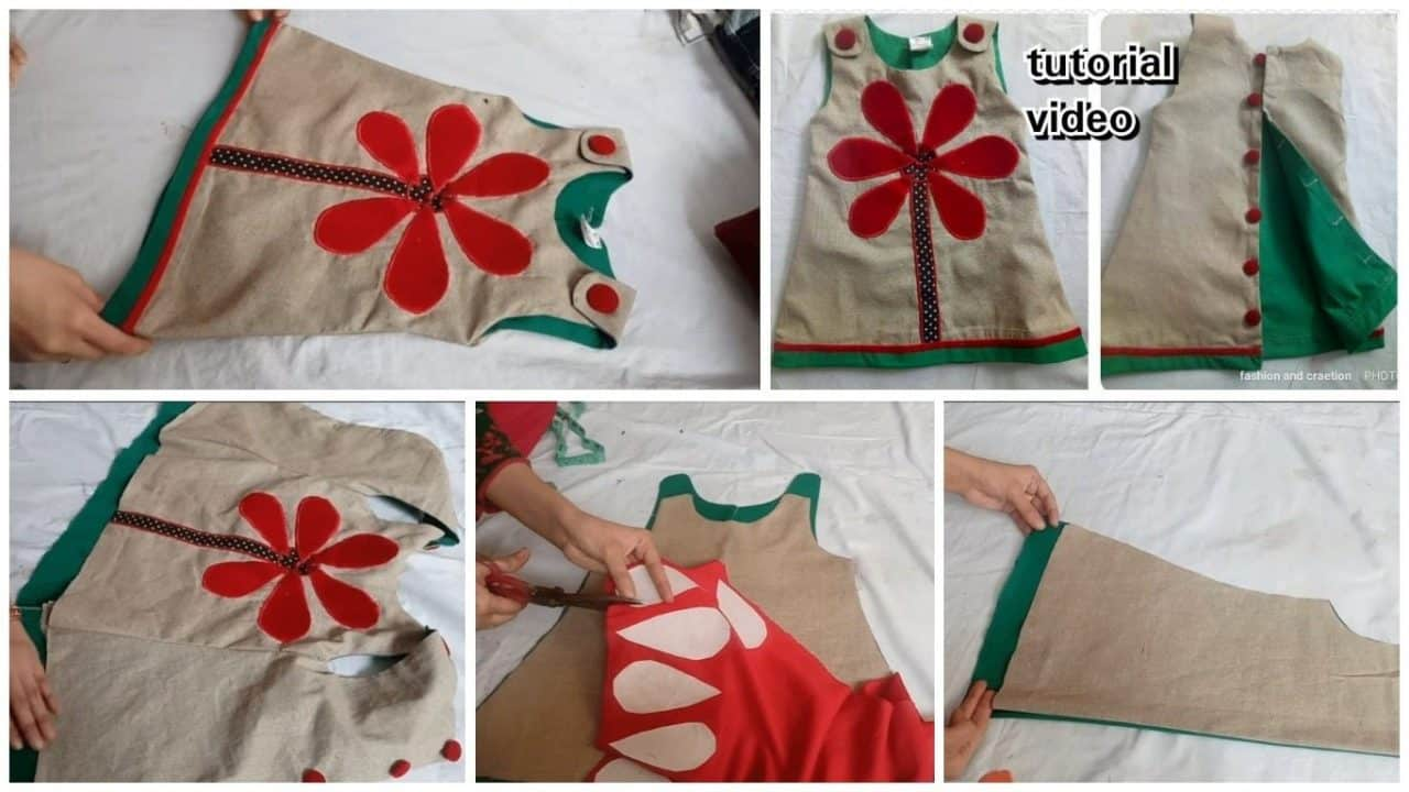 How to make a baby frock