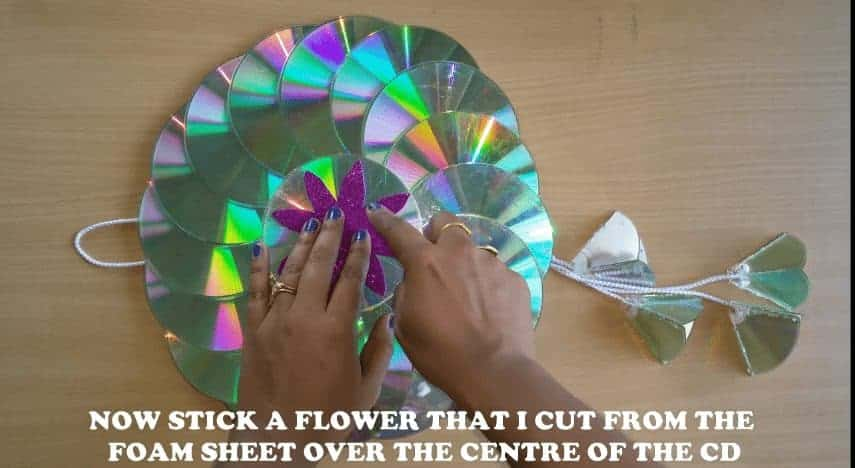 How to make string wall art in CD