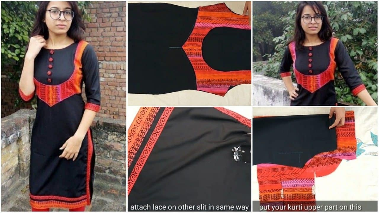 Make stylish kurti from leftover fabric