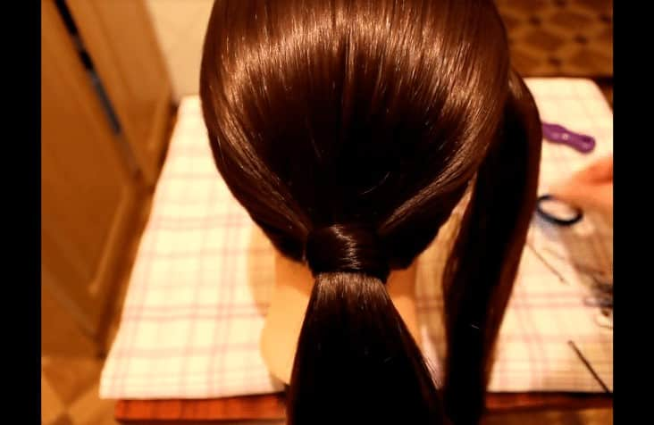 Simple and very beautiful hairstyle on every day
