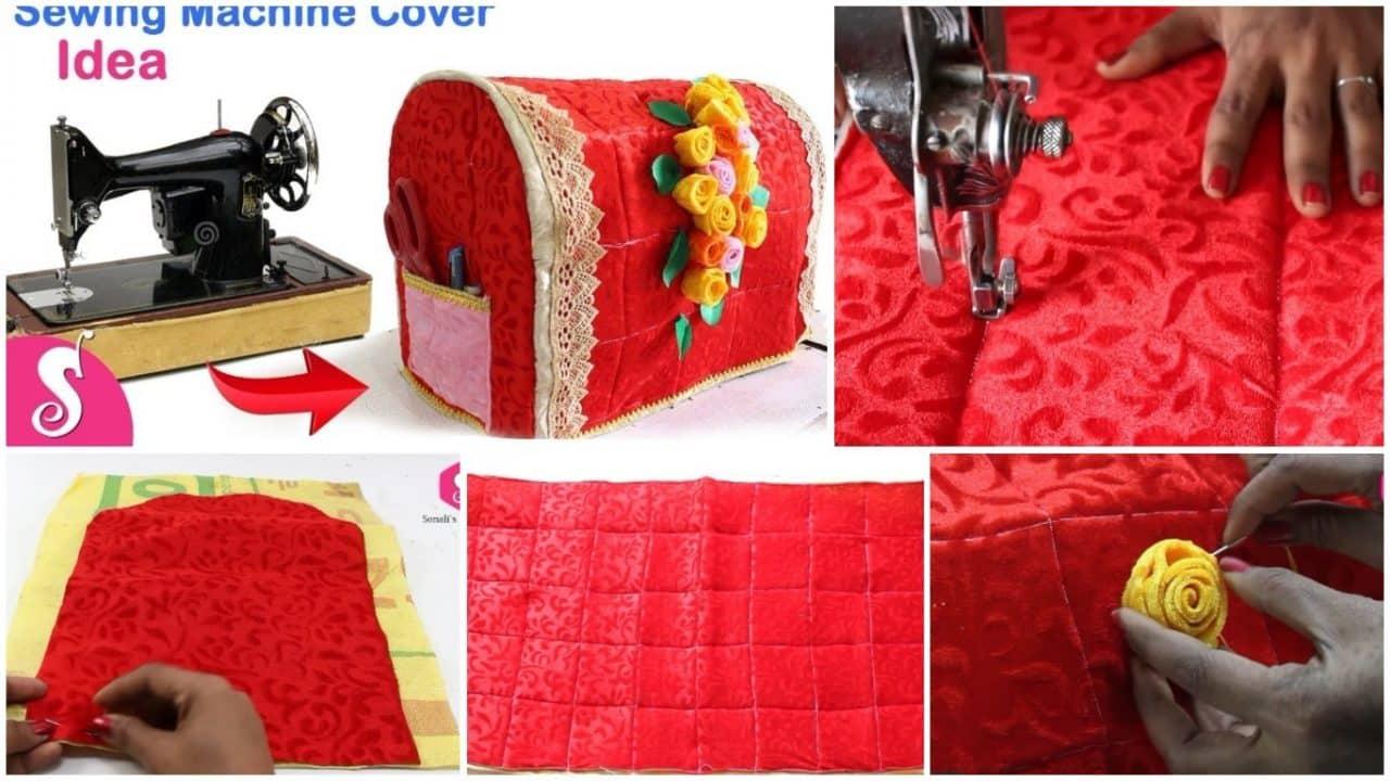 Sewing machine cover idea
