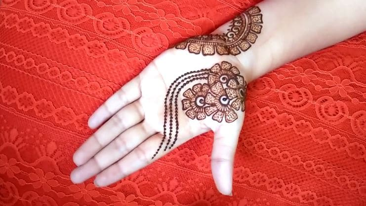 How To Make Arabic Mehndi Design Simple Craft Ideas