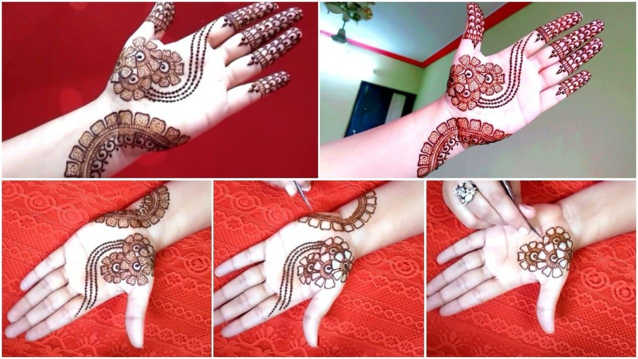 How to make arabic mehndi design