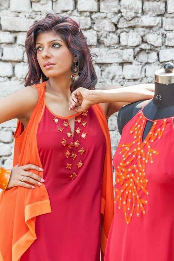 Designer Kurtis For Girls Simple Craft Ideas