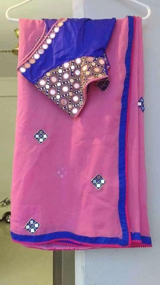 25 Trendy Saree Blouse Designs Simple Craft Ideas