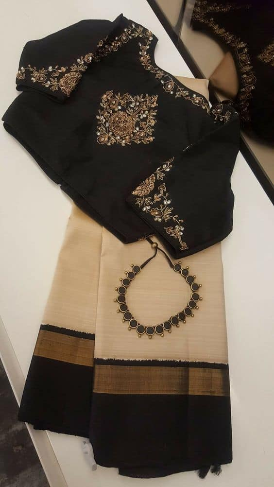 25 Trendy Saree Blouse Designs Simple Craft Ideas