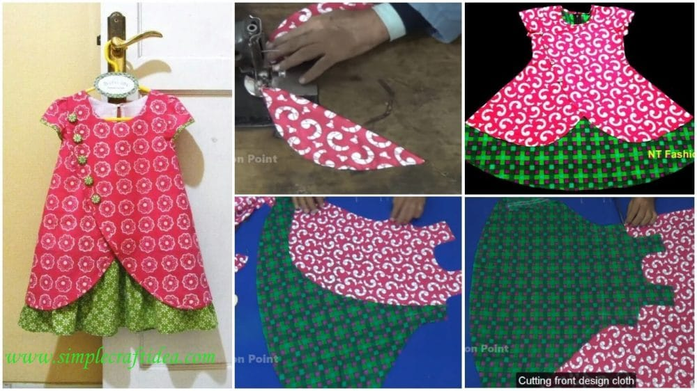 9c88b29cc Baby frock design - Simple Craft Ideas