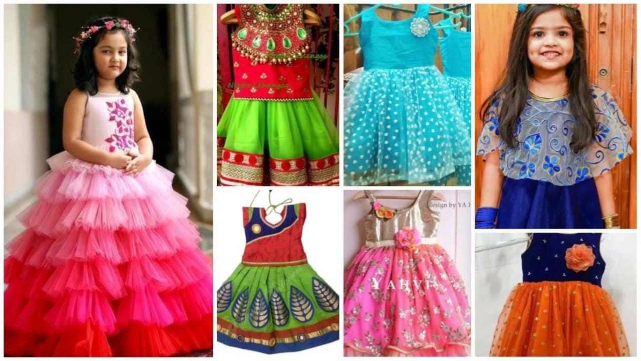 Latest fashion girls frock designs