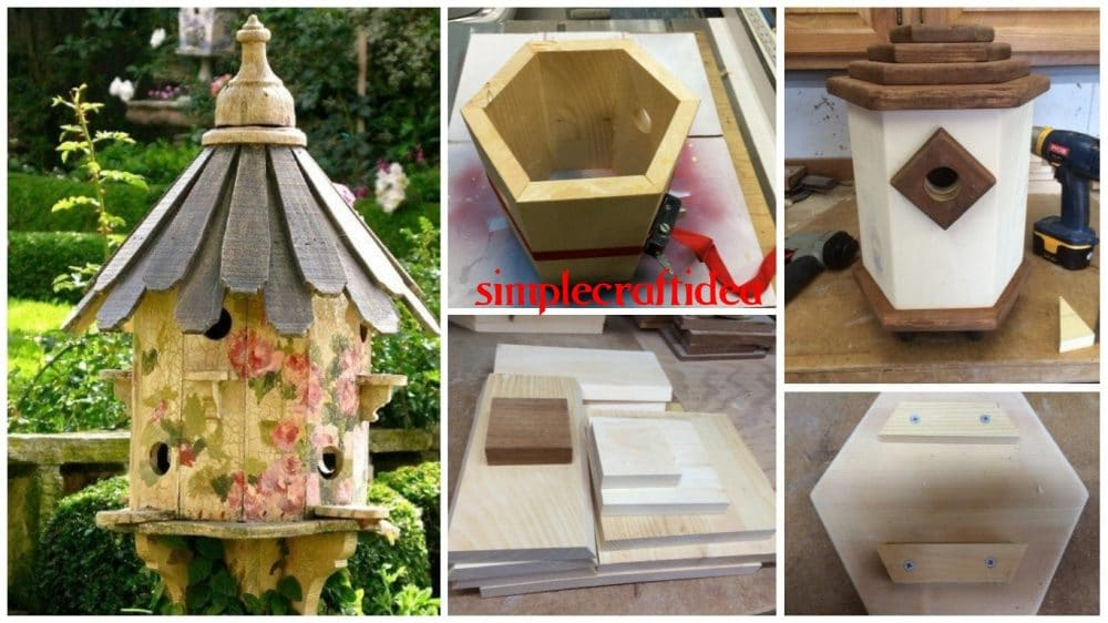 How to build a simple dovecote style birdhouse