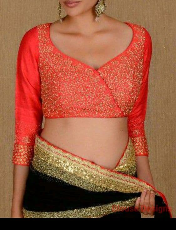 New interesting blouse trends indian bride - Simple Craft ...