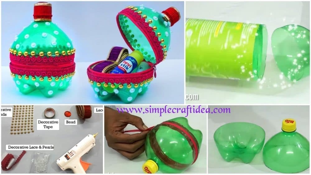 How to make coin purse from plastic bottle