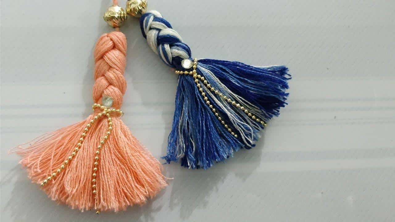 braided tassels