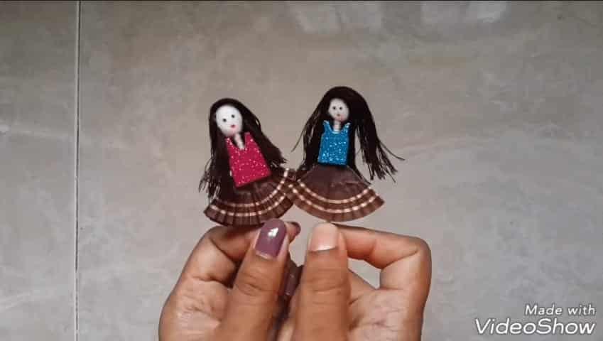 shuttlecock doll