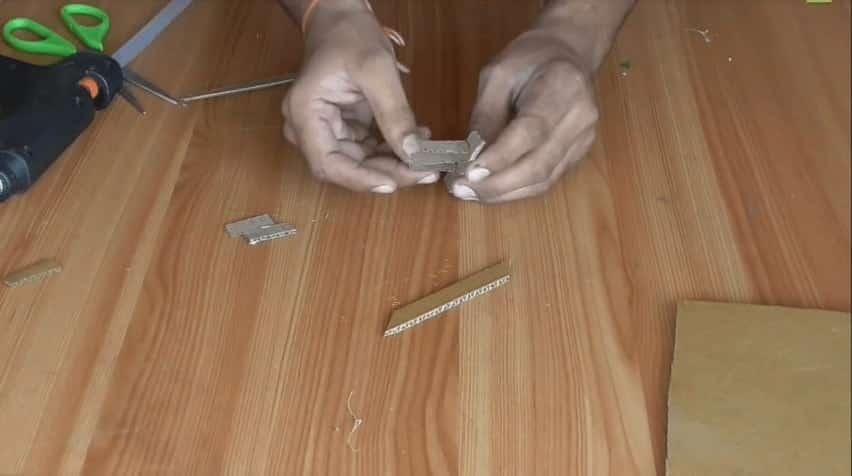 card board house