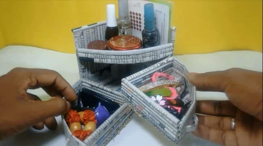 Mini Dressing table Organizer