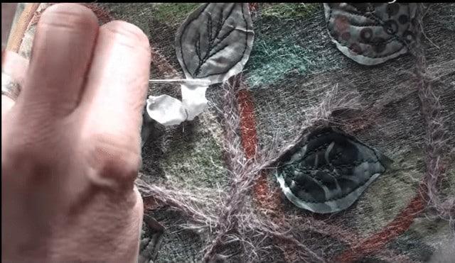 silk ribbon blackthorn