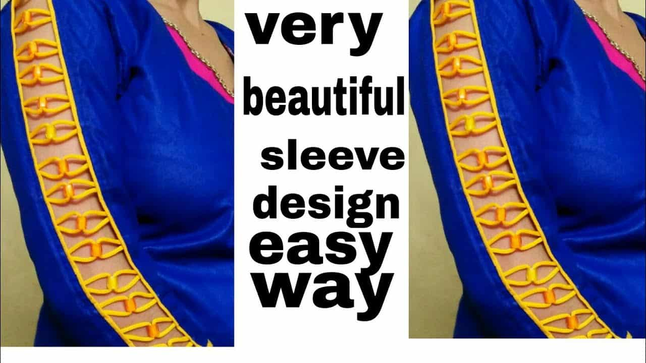 90c99296c3c24 New design Sleeves Baju very beautiful design making professional Style