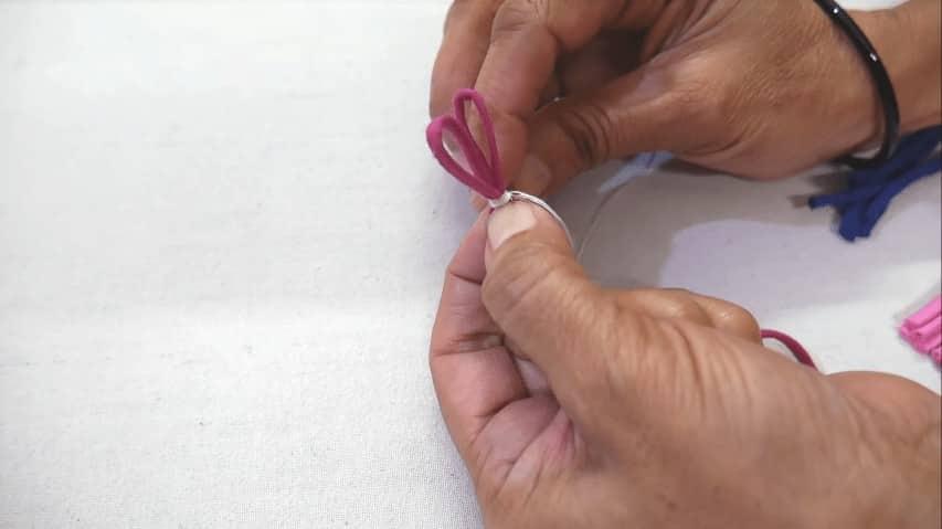 beautiful Fabric tassals
