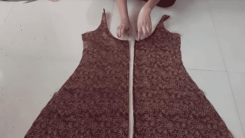 double layer kurti