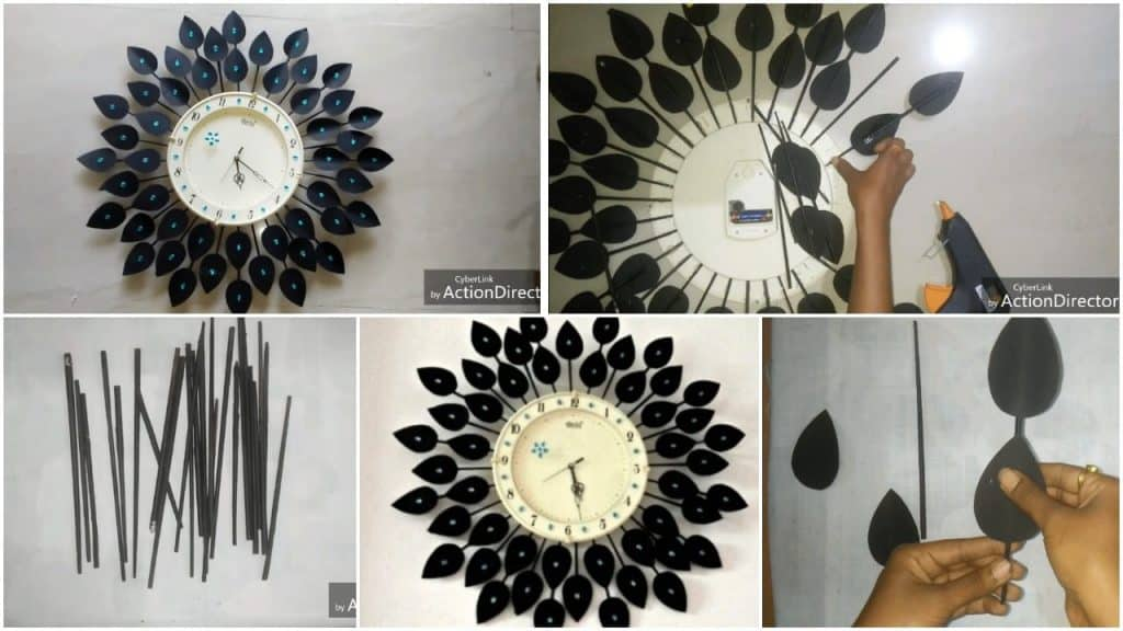 How to make beautiful designer wall clock