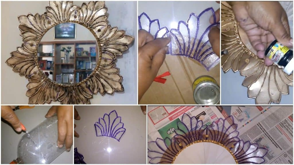 How to modern mirror made of recyclable material