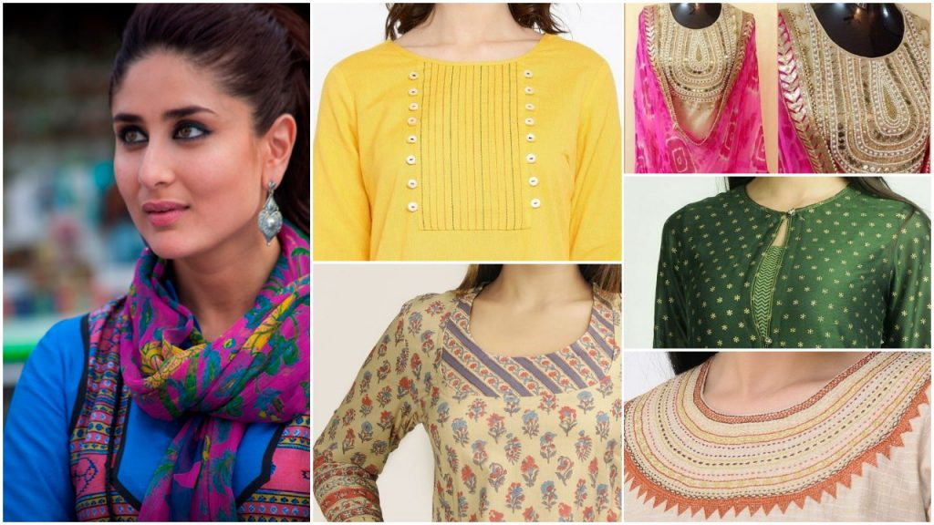 Best kurtis neck pattern images