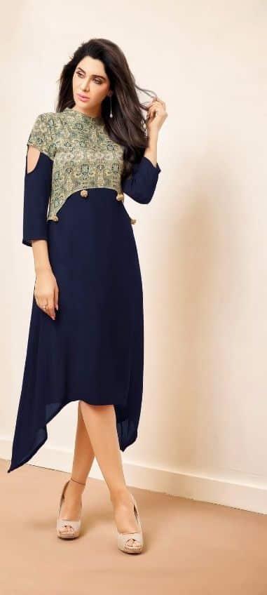 New Stylish Kurti Neck Designs For Women Simple Craft Ideas