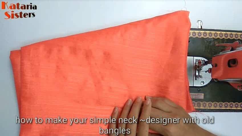 creative neck design