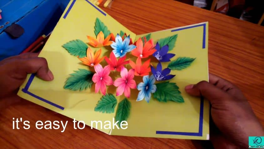 How to make handmade pop-up card | Simple Craft Ideas