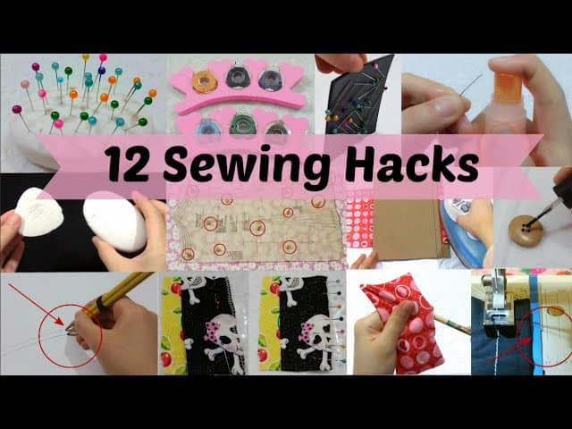 12 Useful sewing and DIY craft hacks you should know