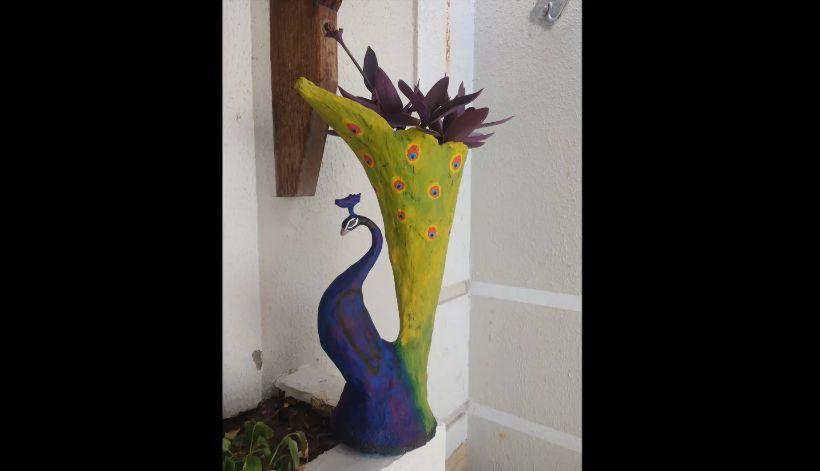 peacock vessel