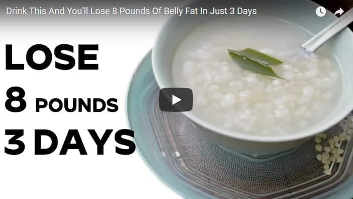 Drink this and you'll lose 8 pounds of belly fat in just 3 days