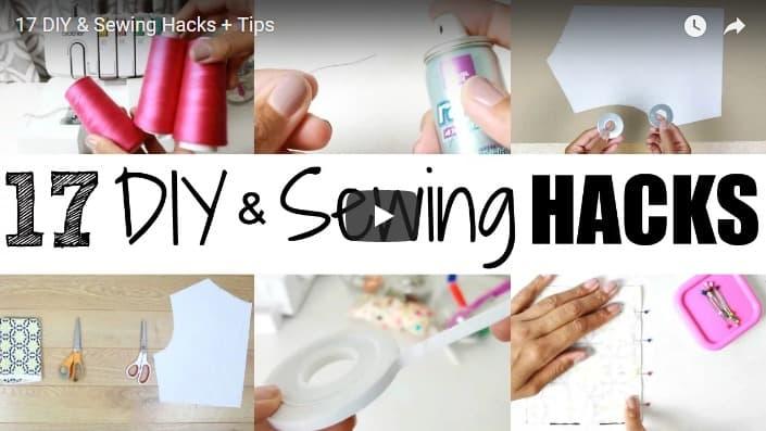 17 Sewing hacks plus tips