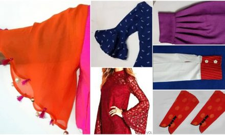 Beautiful sleeves designs for kurti