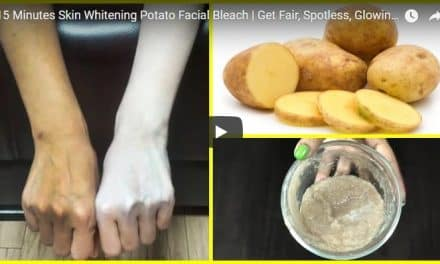 15 Minutes skin whitening potato facial bleach