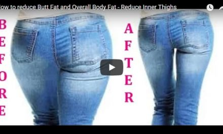 How to reduce butt fat and overall body fat