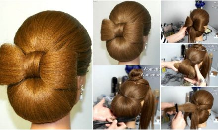 Up do hairstyle for long hair