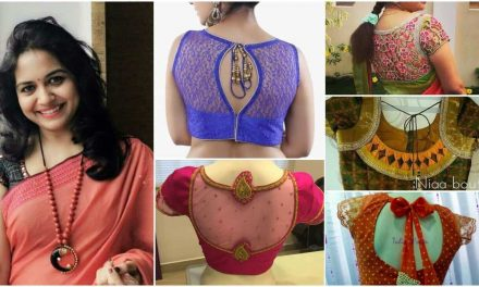 Evergreen and trendy saree blouse back designs